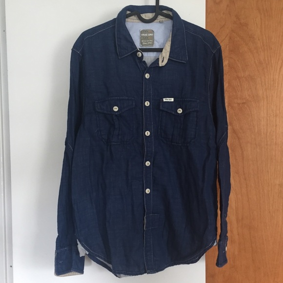 True Grit Other - True Grit Woven button down